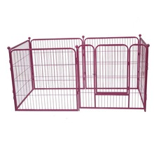 Metal Outdoor Dog cage Kennel large wire heated dog kennel with ABS Tray