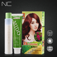 China Hair Color Brands OEM Factory Wholesale Professional Permanent Glow In The Dark Hair Dye With Hair Color Chart