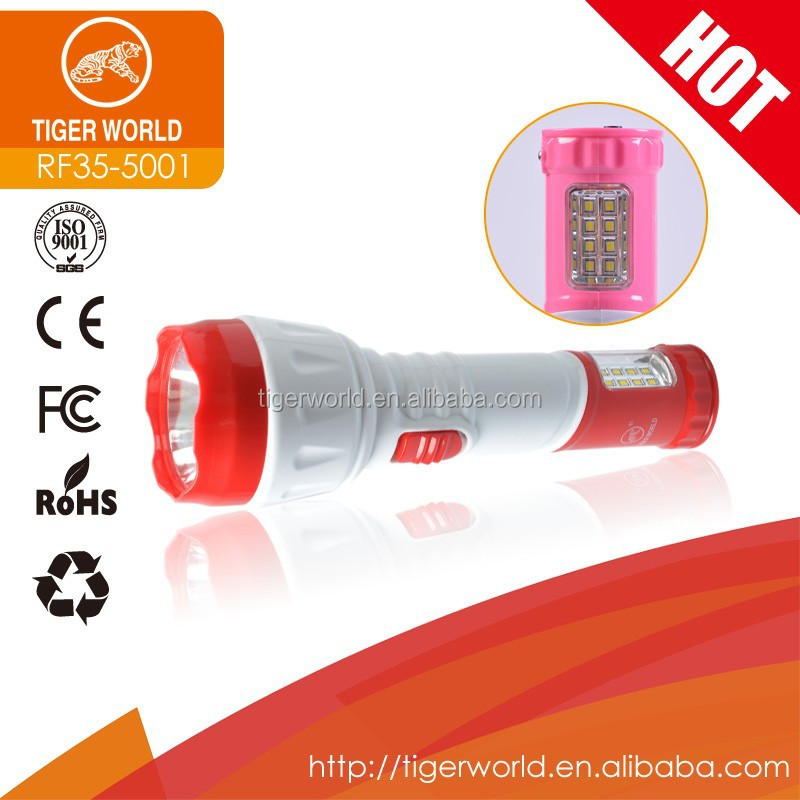 flashlight manufacturers led rechargeable flame SMD electric charging light torch