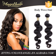 Top quality long lasting full cuticle grade 8A mink body wave brazilian human hair 100% virgin hair