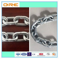Electric Galvanized Din764 Iron Welded Heavy Duty Link Chain