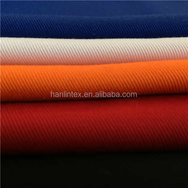 2017 china High Quality Cotton Poly Workwear Uniform Fabrics