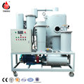 Portable used lube oil re-refine processing purifier plant for sale