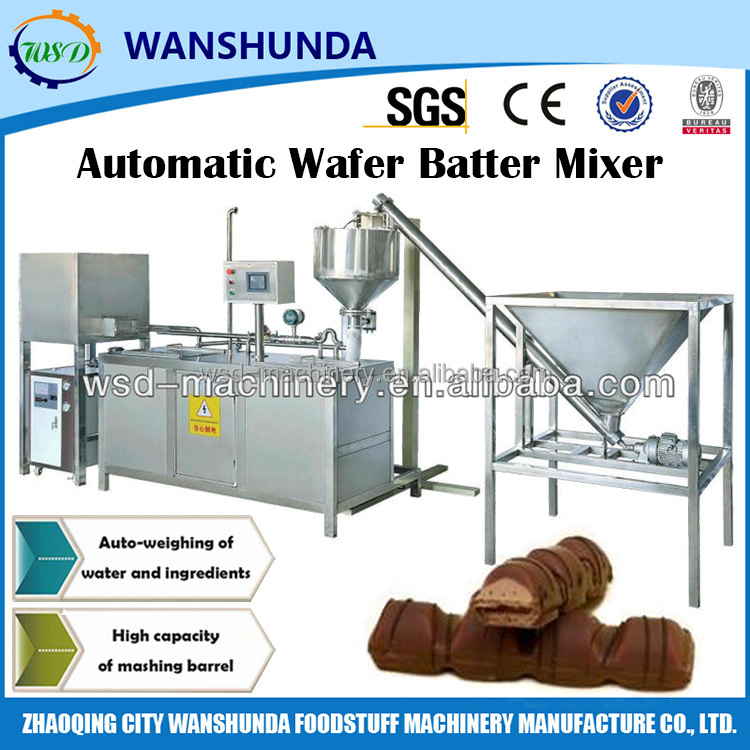 Multifunctional Automatic Wafer Batter Mixer Pulp Mixing Machine with 304 Stainless Stell