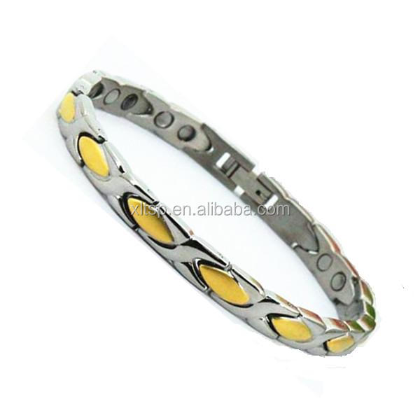 High polishing energy jewerly bracelet health care bio magnetic bracelet