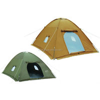 hot selling waterproof khaki large polycotton camping tent saudi arabia