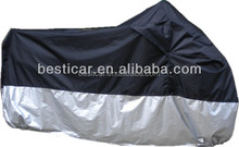 190T Grey Motorcycle Waterproof Rain Dustproof Cover Snow Weather windshield Cover Motorbike Scooter Cover