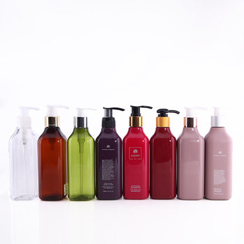 Any custom made color lotion pump 350ml 300ml 250ml 200ml PET bottle
