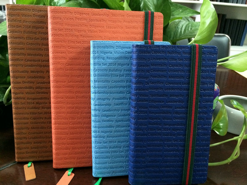 school stationery set & office product leather cover pu notebook