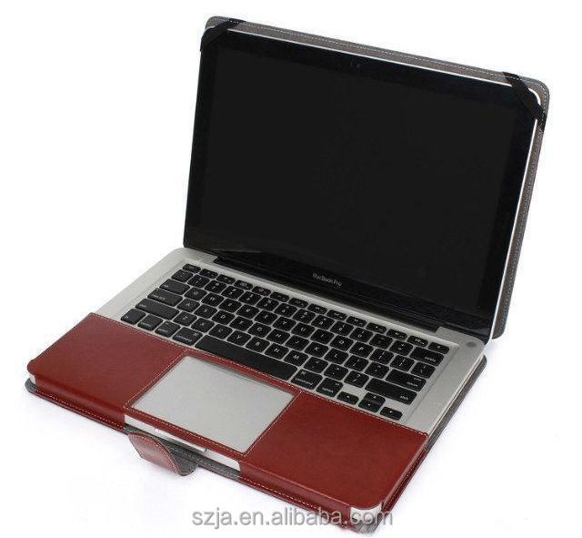 Ultra book Notebook For Mac Book Shell PU Leather Laptop Bag For Apple Macbook Pro 13 15 Inch Retina Protector Case Cover