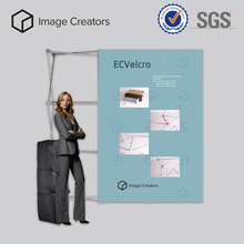 High resolution easy assembling pop up display banner