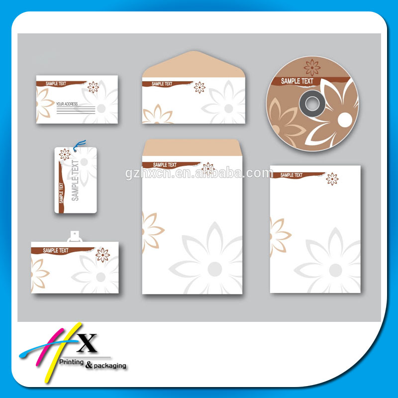 Wholesale factory price cd package customized envelope