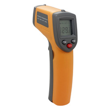 Laser LCD Display Digital IR Infrared Thermometer Auto <strong>Temperature</strong> Meter Gun Non Contact Sensor -50~360 Degree GS320 thermometer
