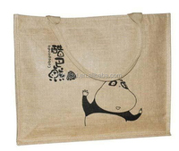 Laminated customized material cheap small jute bags