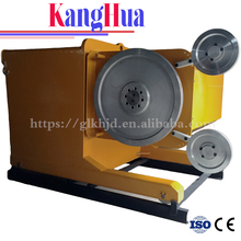 High quality wire saw cutting machine for diamond stone