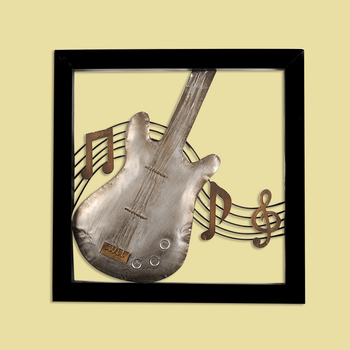 2015 New Product Musical Instrument Metal Craft Wall Art Decor