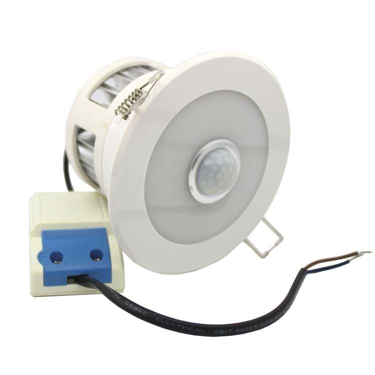 Smart PIR sensor led downlights from Shenzhen China