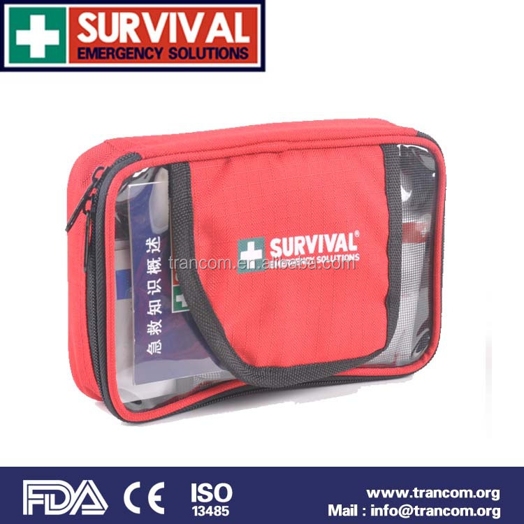 TR102 Mini medical equipment first aid kit sport first aid kit FDA CE ISO approval