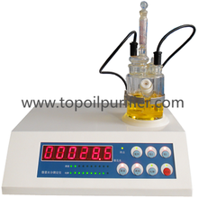 Fully Automatic Digital Karl Fischer Moisture Analysis Equipment/Oil Water Tester/Water In Oil Analyzer