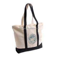 Promotion cotton rope handle plastic shopping bag(YC1914)