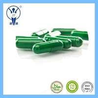 Halal empty capsule Pharmaceutical Green Drug Gelatin Empty Capsule 0#