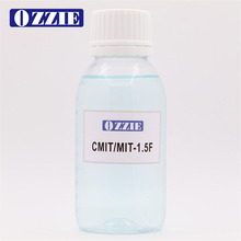 1.5% isothiazolinone and formaldehyde