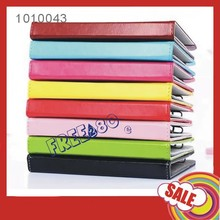 high quality 7 inch universal tablet pu leather case