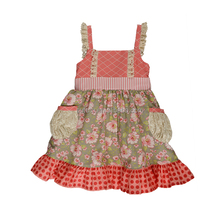Sue Lucky Children Summer Dress Kids Party Wear For Baby Girls clothing