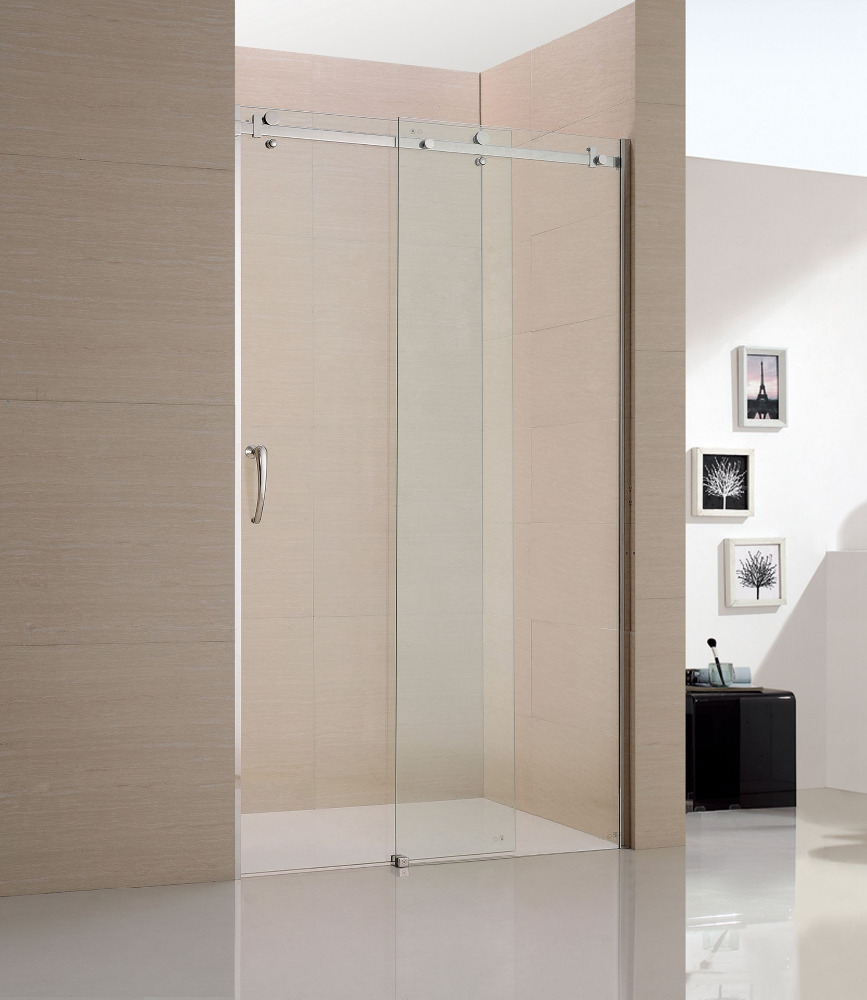 Custom stainless steel accessories shower door