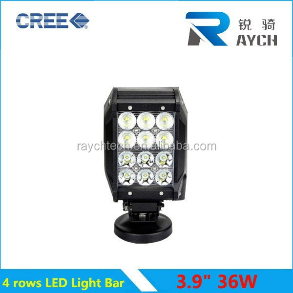 "SUPER POWER led light bar 36W led light bar led work light! 20"" 252 Watt 4 Row LED Light Bar, row led bars 36w c ree"