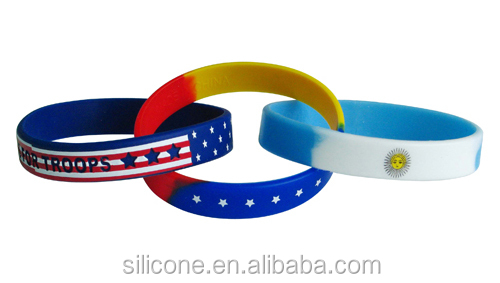 highly welcomed silicone bracelets with sayings
