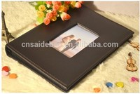 Wholesale handmade paper recycled paper photo album , traditional handmade photo album , large eco paper photo album pvc sheets