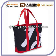 Sail Cloth Number Tote Bags