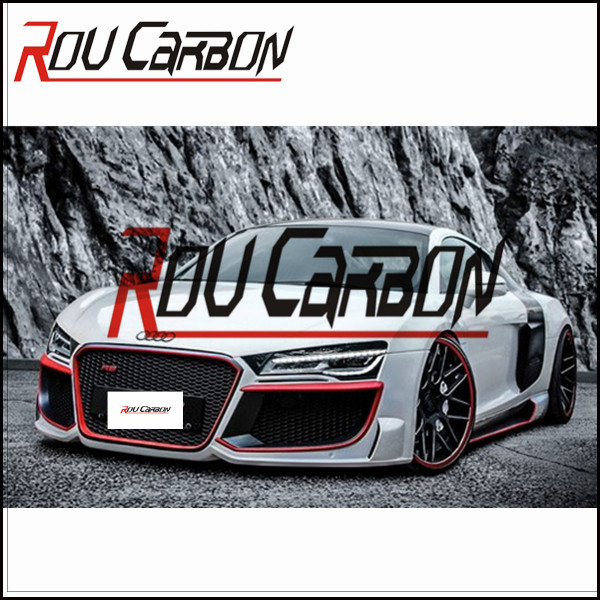 Carbon fiber car tuning kits for Audi R8 regular-style