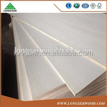 E1 Formaldehyde Emission Standards 1220*2440 3mm Poplar plywood