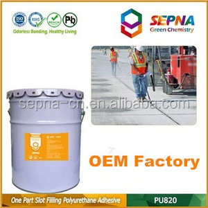 Professional-grade cement color Self-Leveling polyurethane Durable and flexible basements adhesive