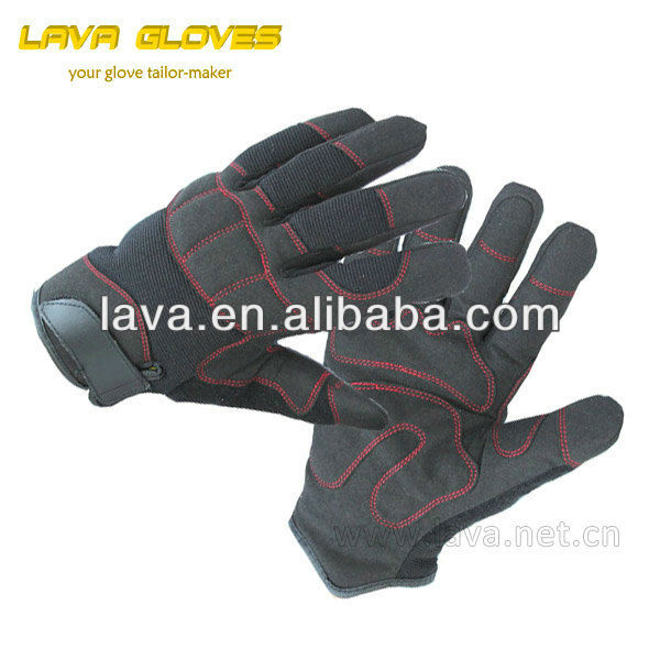 synthetic leather Thinsulate lining winter mechanic gloves
