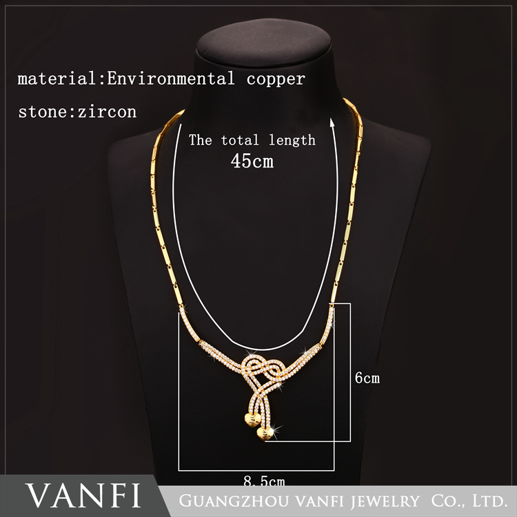 fancy new products vogue jewelry 8 gram gold necklace designs