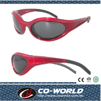 Motorcycle glasses, eye completely coated sponge, the sponge has been safety certified, polarized sunglasses