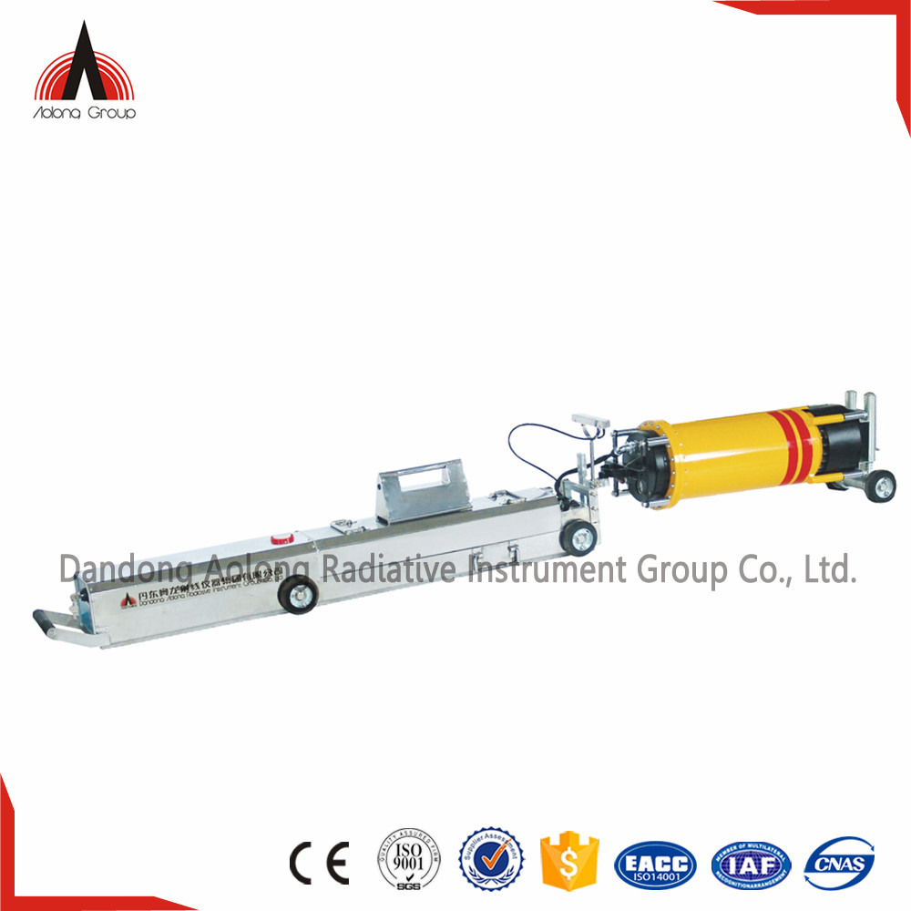 Magnetic localizer X-ray Gas Pipe NDT Weld Testing Crawler