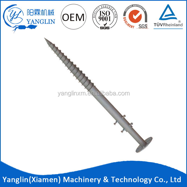 Q235 Galvanizing wall underpinning wall crack wall anchors foundation repair