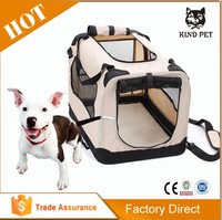 Soft Portable Dog Crate/Foldable Pet Carrier