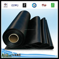 Hot sell smooth fabric surface EPDM rubber sheet through ISO certification 9001