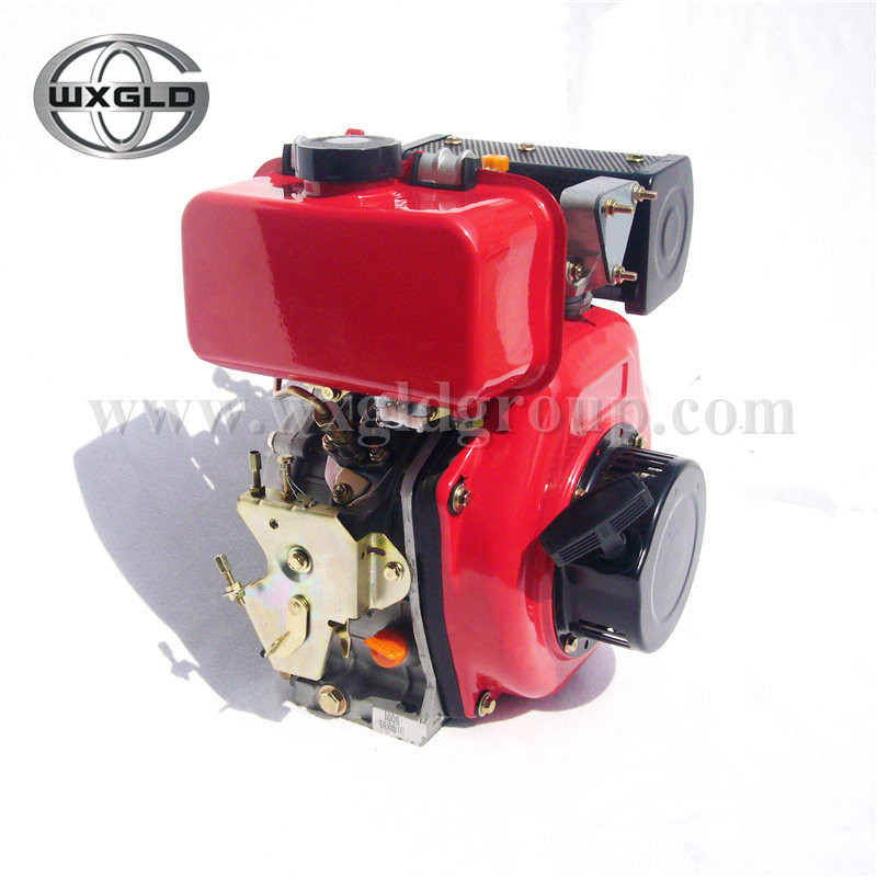 GLD170F 4HP Single-cylinder Diesel Engine 4-stroke for boat/small marine diesel engine