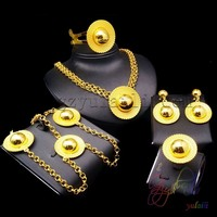 designer delicate necklace set jewelry 24k gold plated hat jewellery sets Wholesale cap 3m gold plated fashion