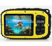 digital camera with waterproof up to 33 feet outdoor camera with 2.7 inch LCD screen
