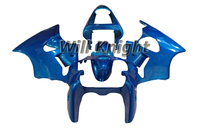 Injection Fairings For Kawasaki Ninja 636 ZX6R ZX-6R 00 02 ABS Plastic Complete Motorcycle Fairing Kit Blue