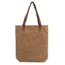 2017 Fashion Womens Customized Cork Paper Large Capacity Shoulder Bags Tote Handbag for Wholesale