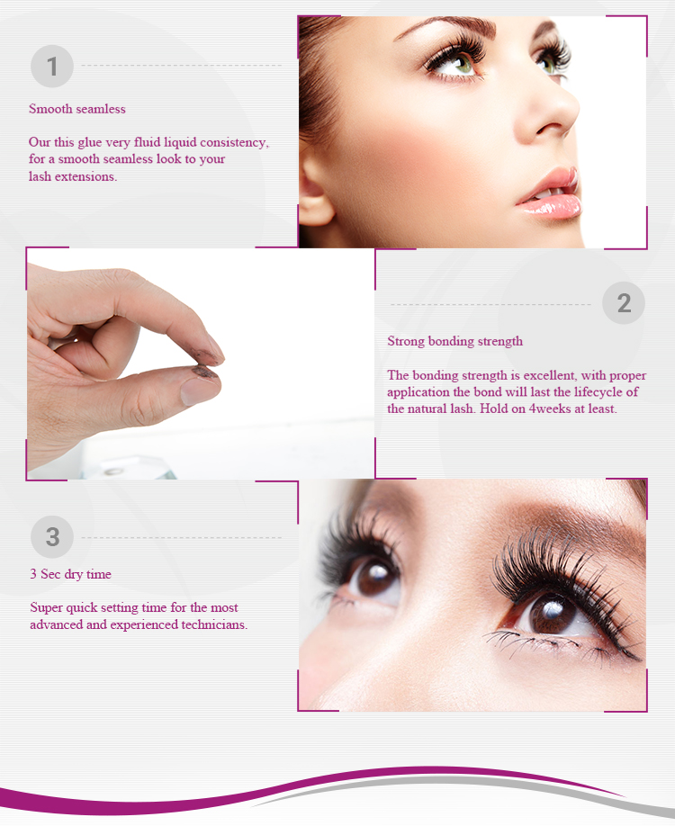 5s eyelash glue long-lasting for 6 weeks WELCOME private label order