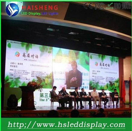 Fancy hot used P8 indoor led rgb pixel screen control by 3G/wifi/synchronous/asynchronous